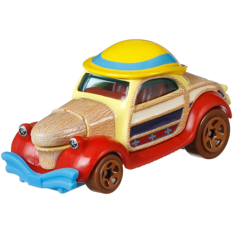 Hot Wheels Character Cars Disney Pinocchio Vehicle Series 2 4//6