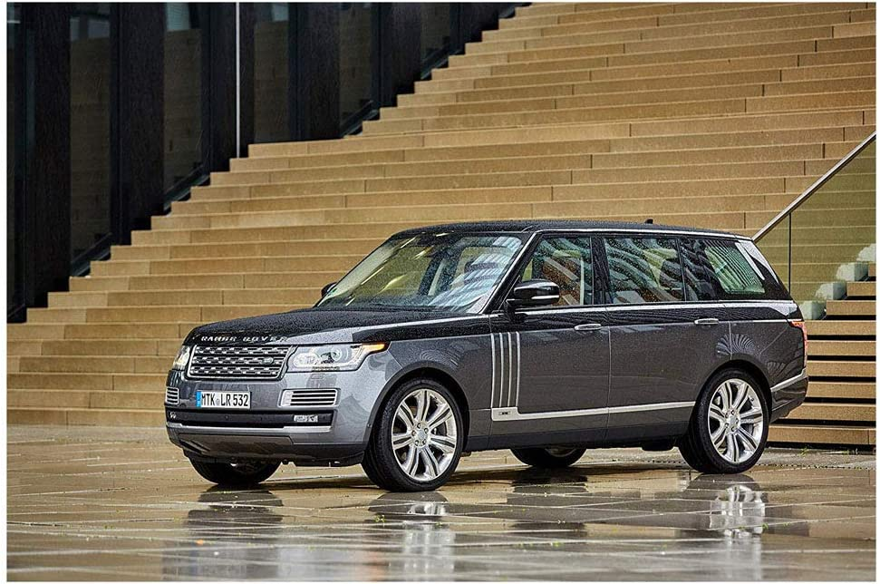 Voss Collectables Inspired Art Range Rover Land Rover Aluminum Car Auto License Plate New British Carbon Bump