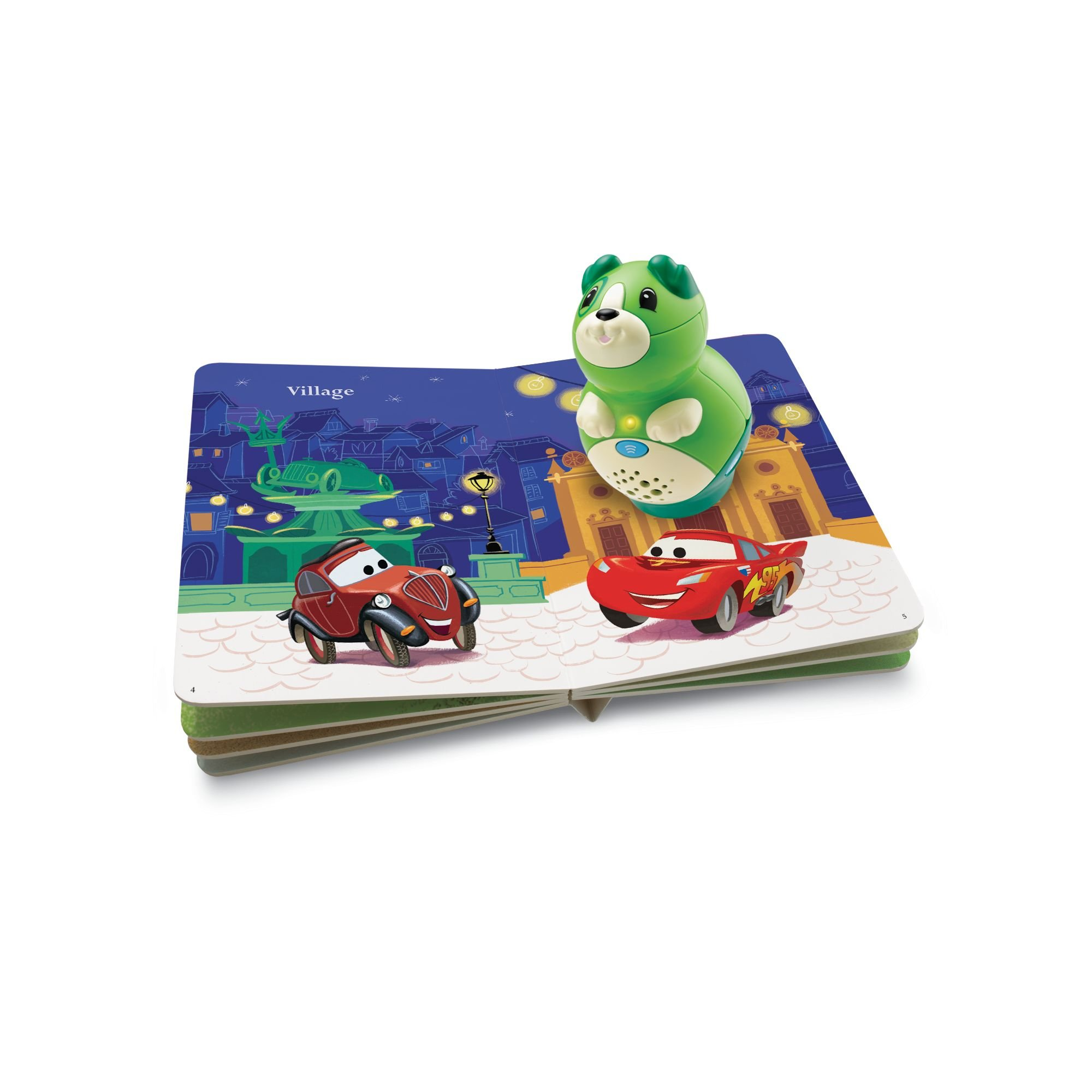 Leapfrog LeapReader Junior Book: DisneyPixar Cars 2: World Adventure (works with Tag Junior) by LeapFrog (Image #2)