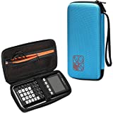 BOVKE Hard Graphing Calculator Carrying Case for Texas Instruments TI-84 Plus CE/TI-83 Plus CE/Casio fx-9750GII, Extra…