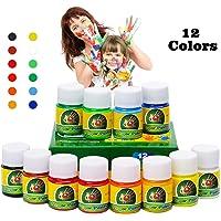 Hapree 12 colores para pintar con los dedos