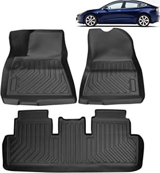 Car Protect Original Interior Flooring Dirt Protection Black//Silver Luxury Mats