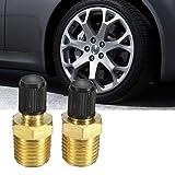 "Tire Valves 1/4"" NPT MPT Brass Tire Tyre Air"