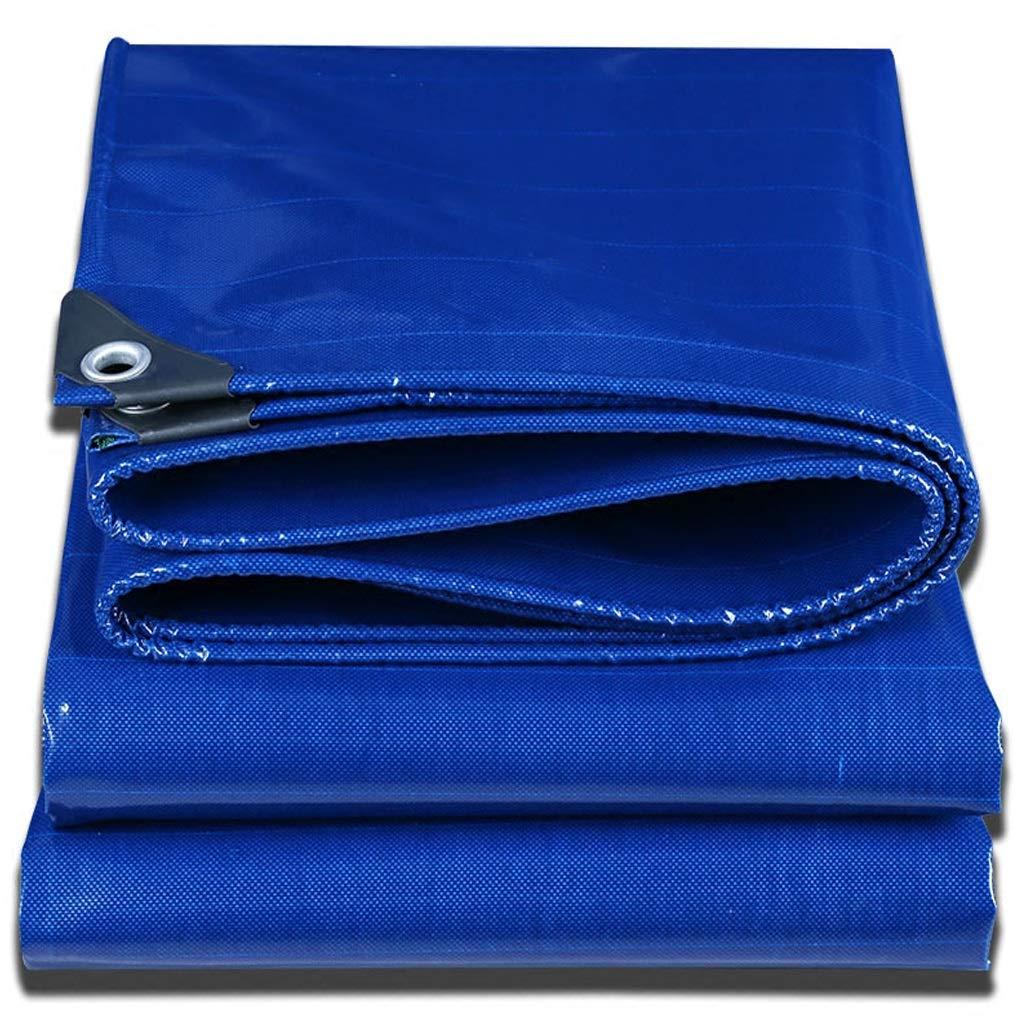 GUZP Starke Blaue Plane, High Density Polyethylen Doppelschicht Wasserdichte Sonnencreme Feuchtigkeitsfest für Outdoor Camping Picknick Zelt 500g   Quadratmeter (größe   3x4m)