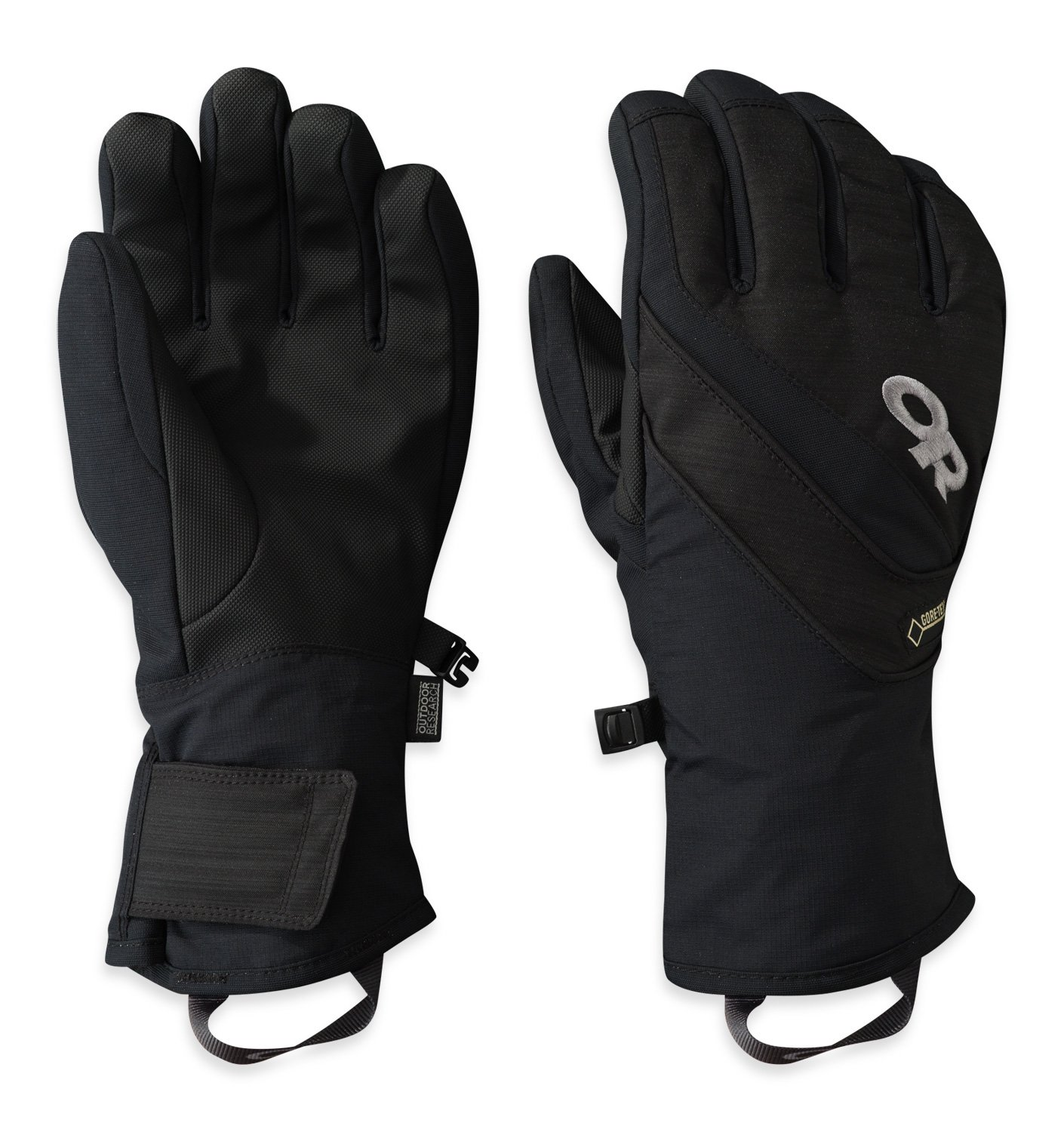 Outdoor Research Women's Centurion Gloves, All Black, Small