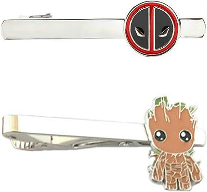 Outlander Marvel Comics – Juego de 2 broches de corbata de tijeras para boda con caja de regalo: Amazon.es: Joyería