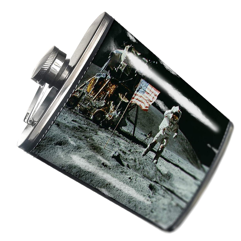 8オンスフラスコステッチNASA Moonステンレススチール – Neonblond   B00QQV5UIY