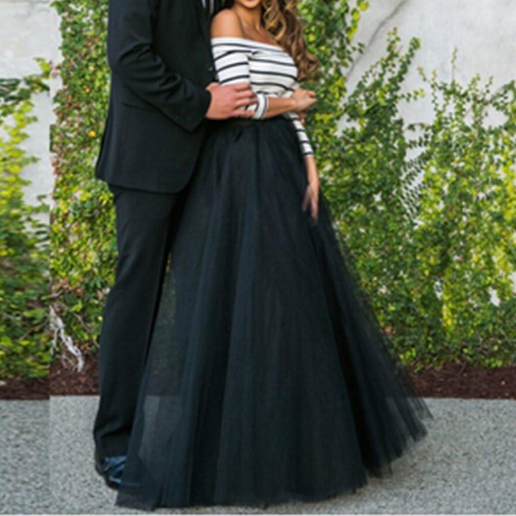 Wedding Lady - Falda larga de tul para novia negro negro Talla 50 ...