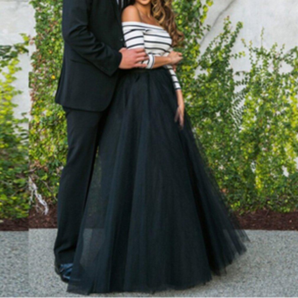 Wedding Lady Women's A-line Tulle Long Floor Length Bridal Skirt:  Amazon.co.uk: Clothing