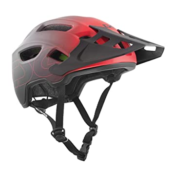 TSG Trail Fox Graphic Diseño Casco, Unisex, Trailfox Graphic Design, Fade to Red