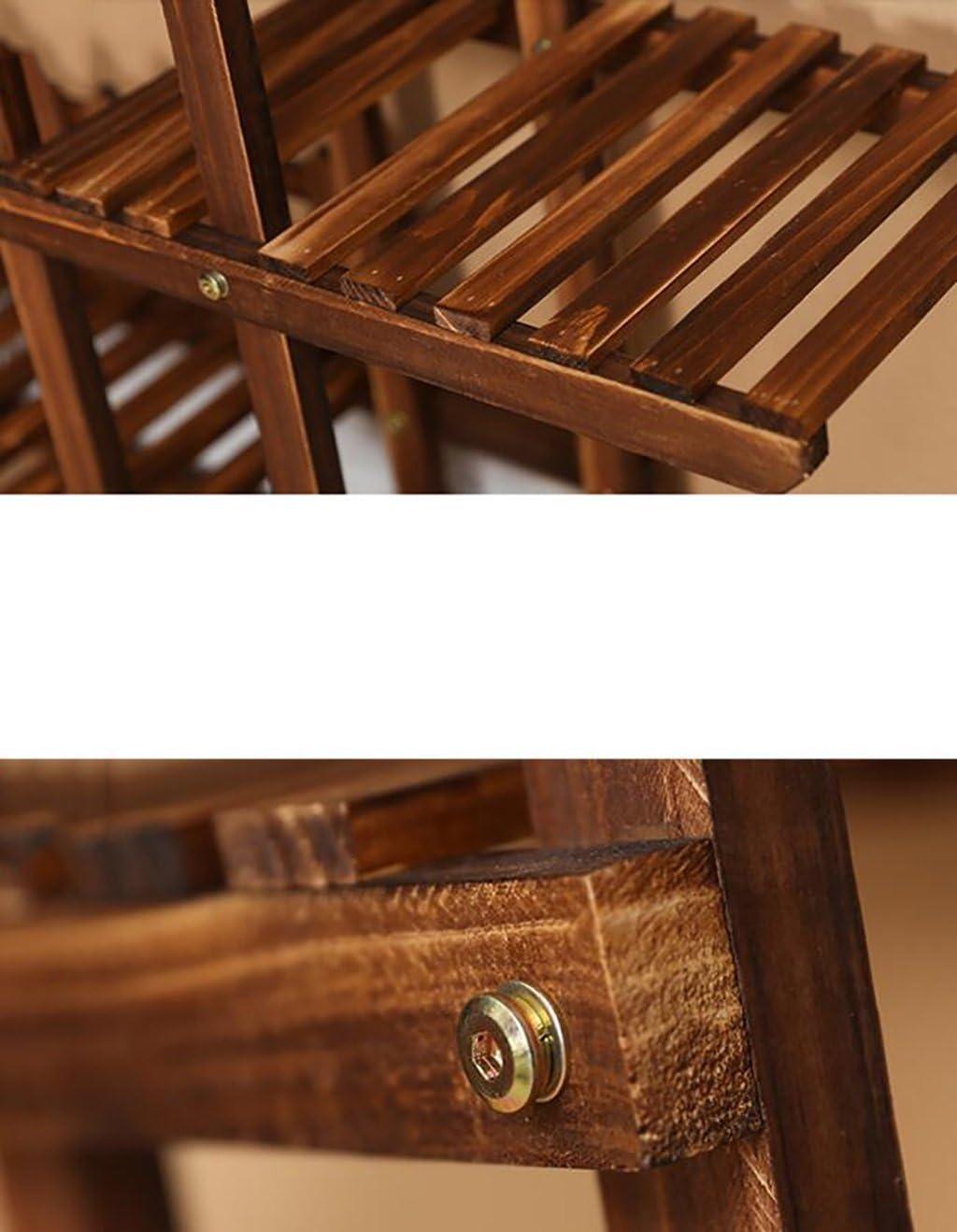 Pergolas / flor estante de madera maciza de flores balcón antiséptico multipiso estante de flores de madera tipo suelo interior y exterior sala de estar multi carne macetas macetas flor expositor soportes: