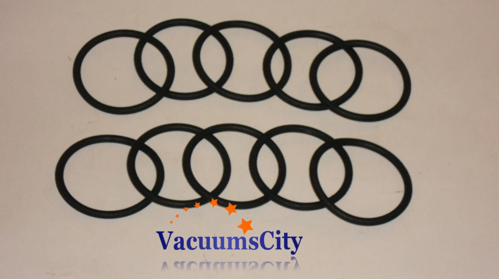 Hoover Light Weight Commercial Upright Vacuum Round Belts 10 Pk Part # 044783AG