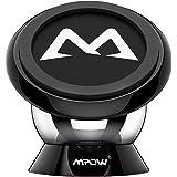 Mpow Supporto Auto Smartphone Magnetico 360° Girevole Sticky Portatile, Porta Cellulare per iPhone 7 7 plus 6s 6 plus 5s 5c 5, Samsung Galaxy S6 S6 Edge S5 S4, ed altri Smartphone Lumia LG Huawei Motorola, Nero