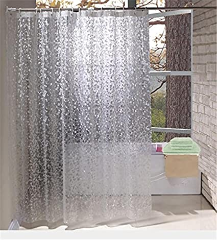 Amazon Shower Curtain Liners Waterproof Mildew Thick 3D