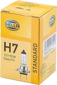 Hella 8gh 007 157 121 Glühlampe H7 Standard 12v 55w Sockelausführung Px 26 D Schachtel Menge 1 Auto