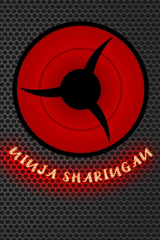 ninja sharingan: Journal sasuke shinobi ninja eternal ...