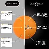 PRO SPIN Ping Pong Balls - Premium Orange