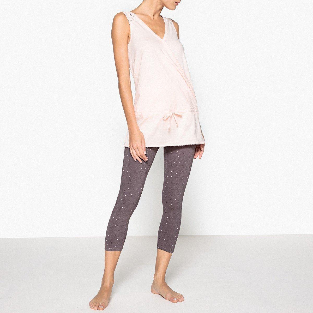 La Redoute - Pijama - para Mujer Rosa/Gris 52: Amazon.es: Ropa y accesorios