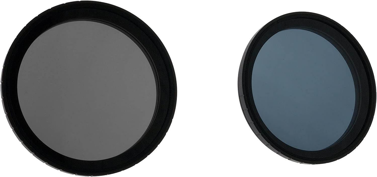 Formatt Hitech Limited HT58MW2C MultiStop//Warm2Cool Fader and Multicolored Polarizer Dual Pack 58MM