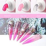 Makartt Pink Poly Nail Extension Gel Kit, Nail