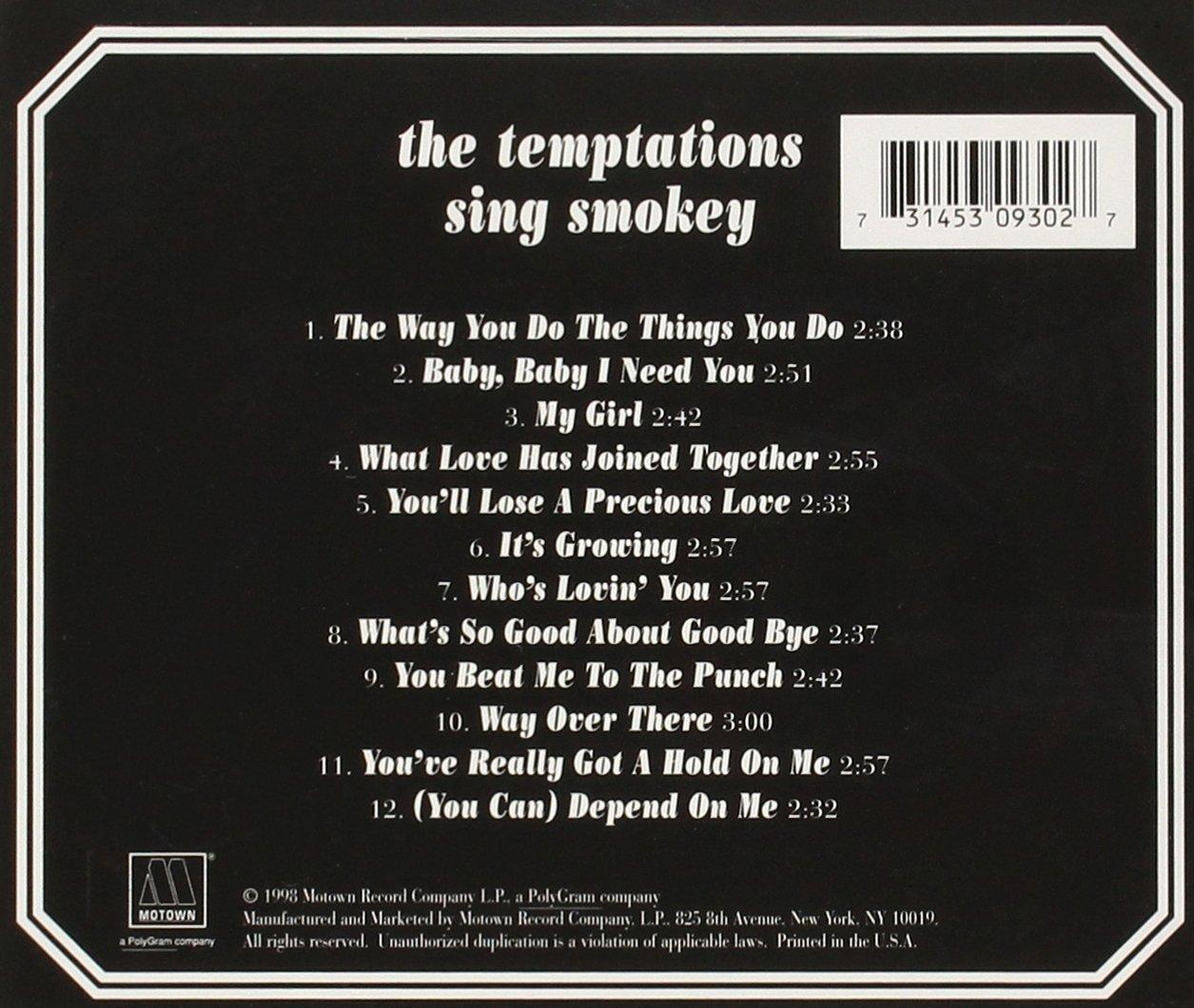 Temptations Sing Smokey (Remastered)