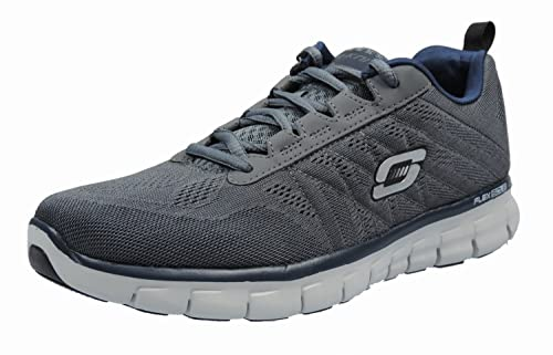 Skechers 51188 Herren Sneaker Textil, Grau, Größe 47,5