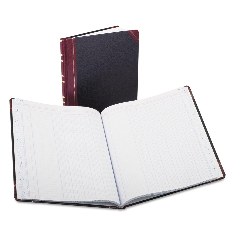 Boorum & Pease 160212156 Columnar Book, 6 Col,150 Pgs,12-1/4''x10-1/8'',BK Cover