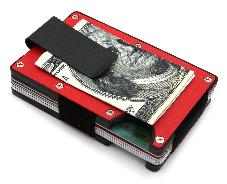 Minimalist Slim Wallet - RFID BLOCKING Money Clip
