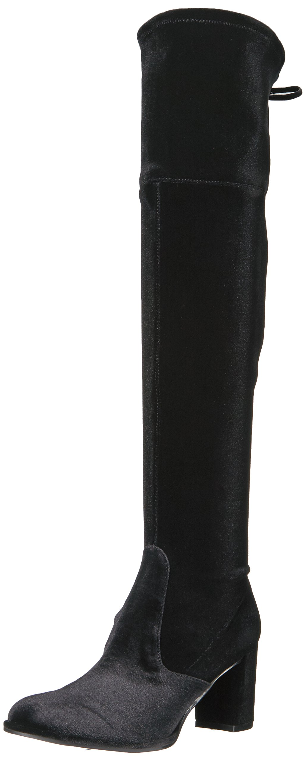 Marc Fisher Women's Lencon Over The Knee Boot, Black, 7 Medium US