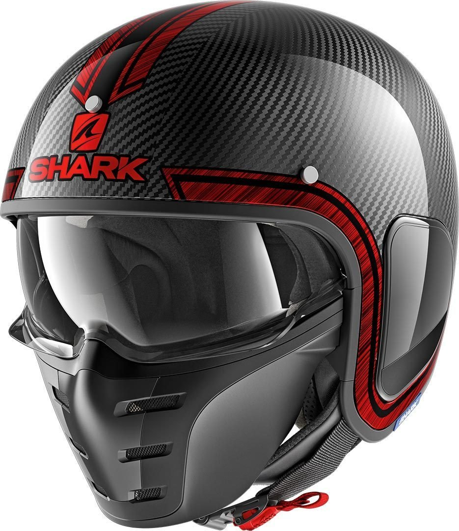 Shark S-Drak Carbon Vinta Open Face Motorcycle Helmet
