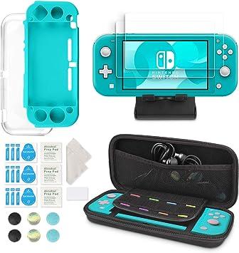Kit 6 en 1 de Accesorios para Nintendo Switch Lite: Amazon.es: Electrónica