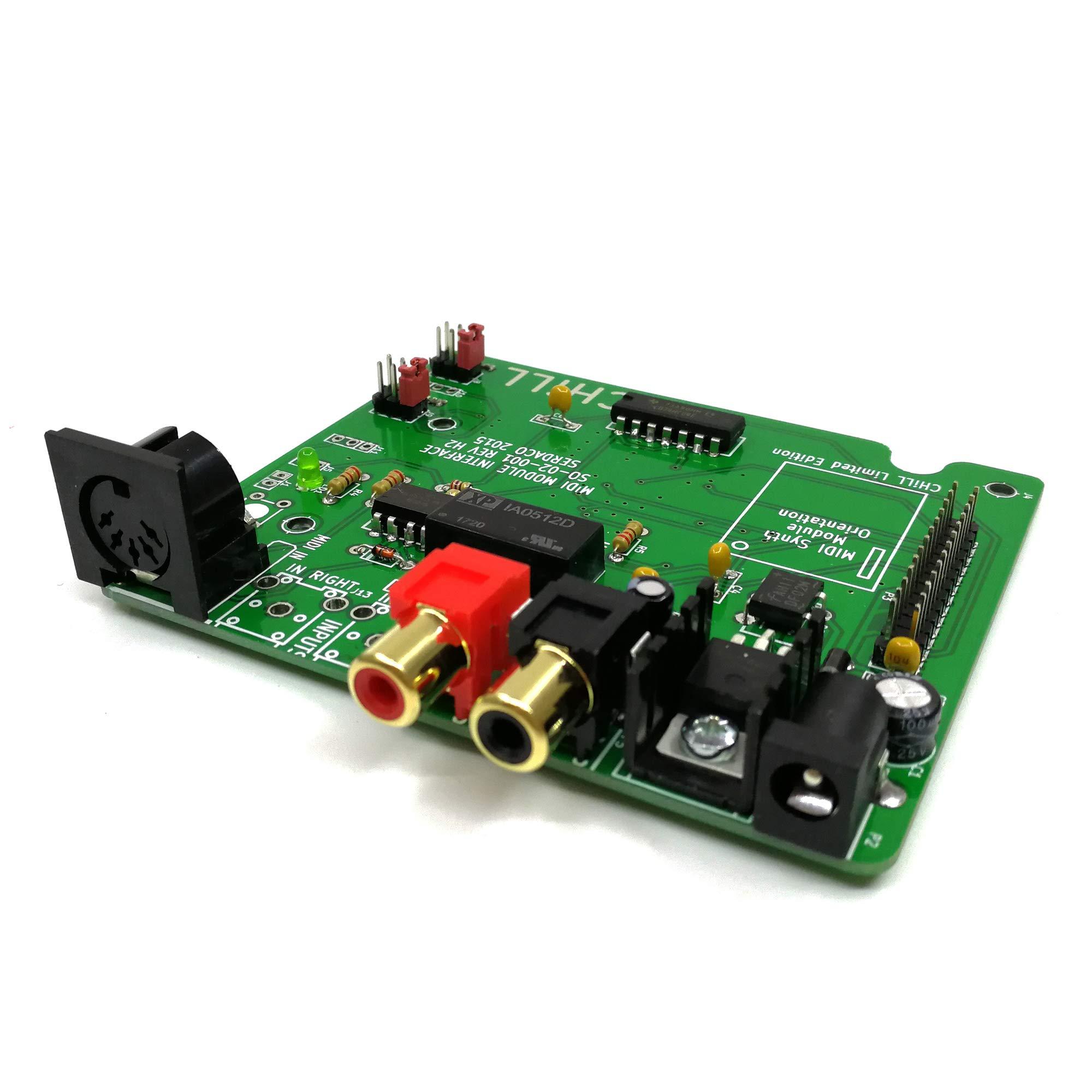 Waveblaster Module MIDI Interface Board - Sound Card Wavetable DB50XG NEC XR385