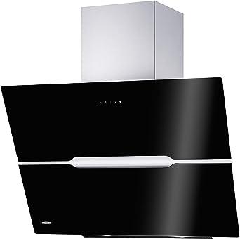 Oranier Vivio 90 S - 8676 90 Capó para la cabeza Negro Campana extractora de pared: Amazon.es: Grandes electrodomésticos