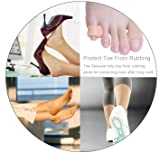 Povihome Pinky Toe Cushion Splint, Gel Toe