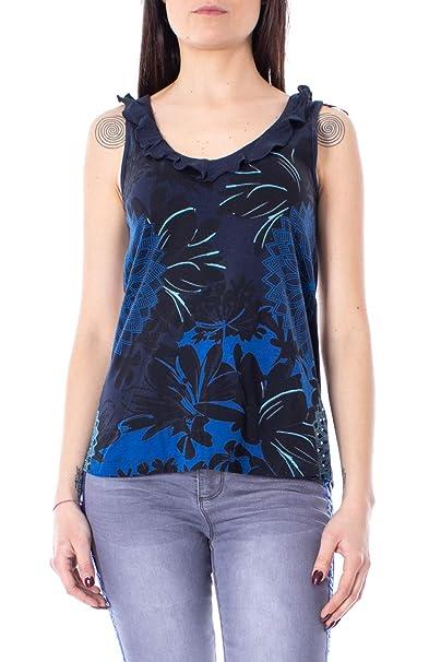 best service 5ebb0 d88df Desigual Canotta Donna TS Zoe 19swtka6: Amazon.it: Abbigliamento
