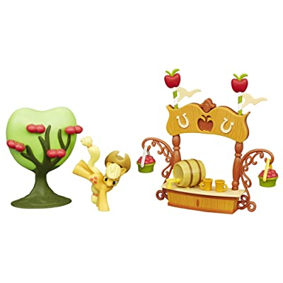 My Little Pony Friendship is Magic Collection Sweet Apple Juice Stand Set: Toys & Games [5Bkhe1106088]