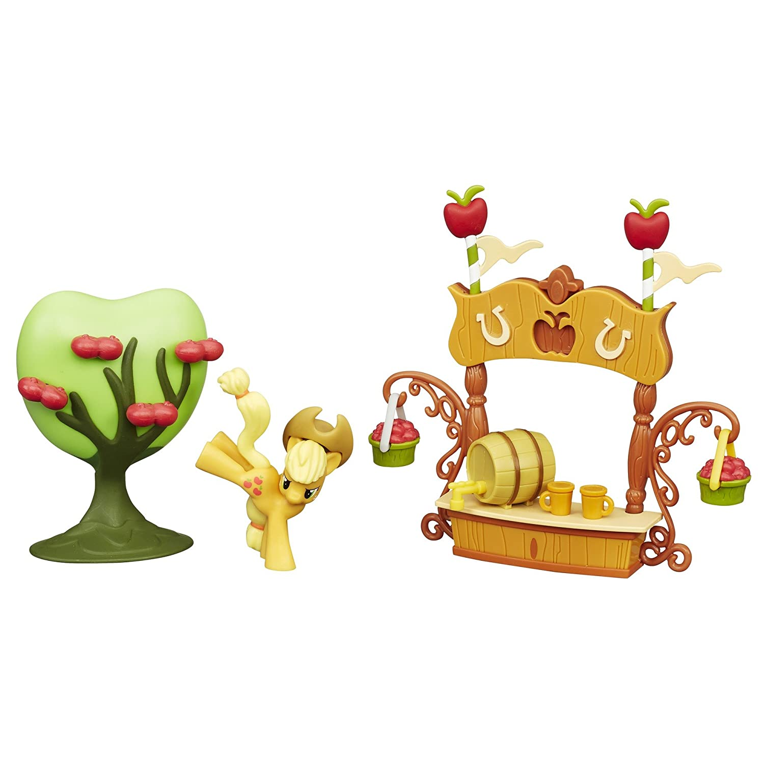 My Little Pony Friendship is Magic Collection Sweet Apple Juice Stand Set