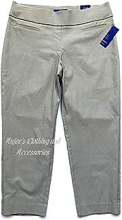 ea02d598a3f Apt 9 Women s Modern Fit Cuffed Capri Jeans at Amazon Women s Jeans ...