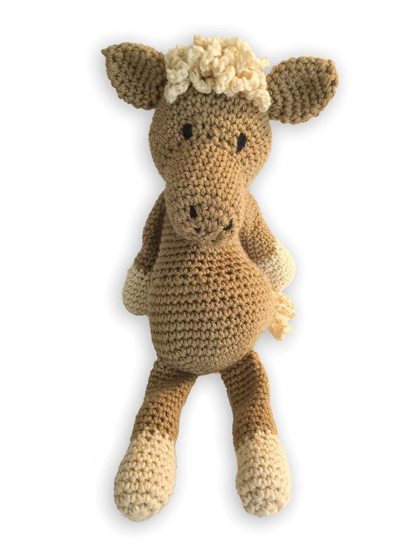 Crochet Amigurumi Palomino Horse Plush Stuffed Animal