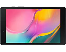 SAMSUNG Galaxy Tab A 8.0-inch Android Tablet 64GB Wi-Fi Lightweight Large Screen Feel Camera Long-Lasting Battery, Black