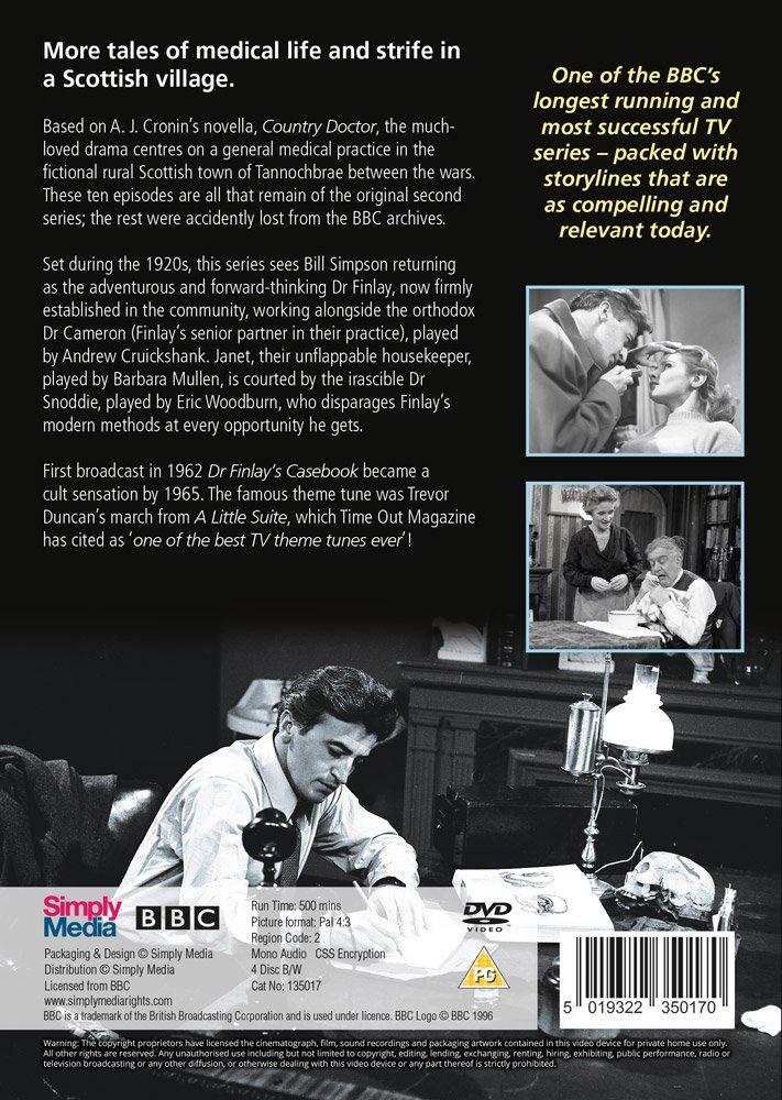 Dr Finlay S Casebook Series 2 Dvd Uk Import Amazon De Bill