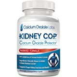 Kidney COP Calcium Oxalate Protector 120 Capsules, Patented Kidney Support & Calcium Oxalate Stone Dissolver Breaker & Crusher Supplement, Clears Removes & Helps Stop Recurrence of Stones