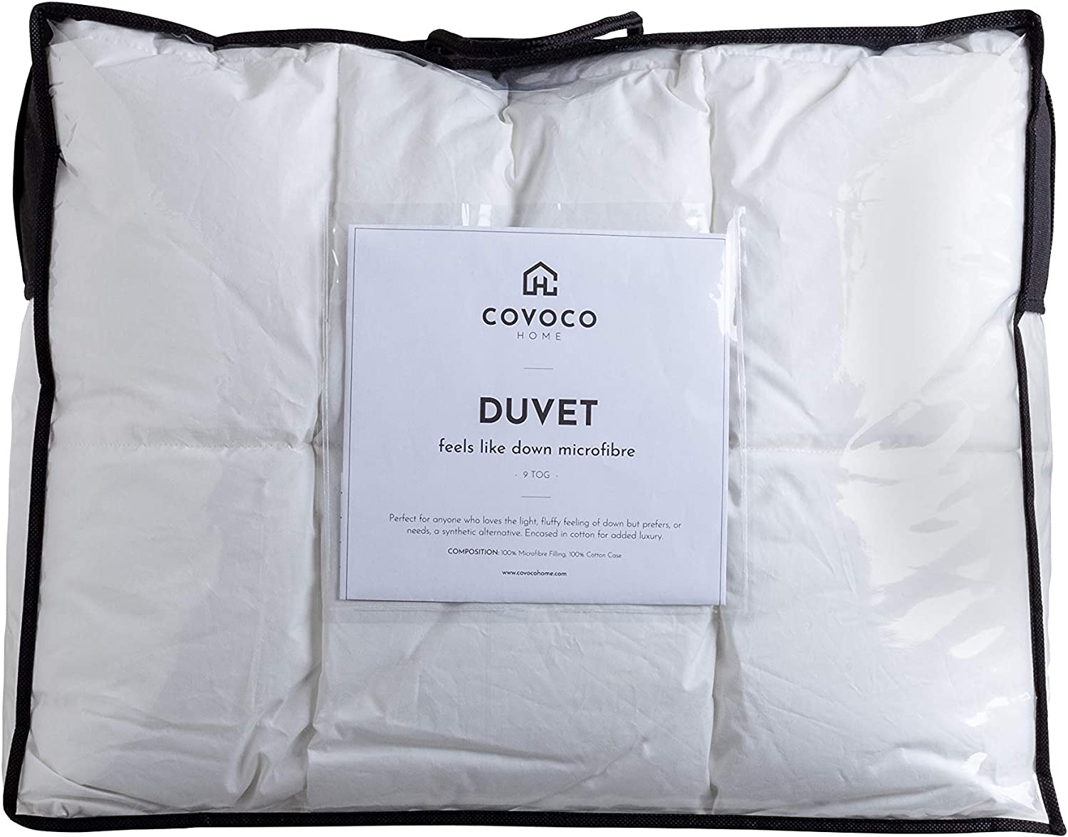 Luxueux microfibre 13.5 Tog Feels Like Down Couette