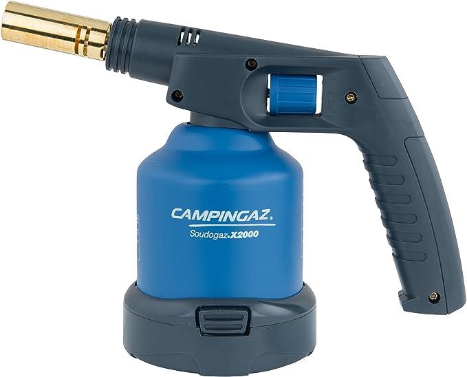 Campingaz 202921 Lámpara soldadura X2000, sin Cartucho, Azul y Negro, 237 x 134 x 136 mm