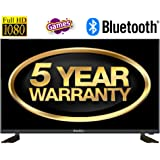 """Blackox 32TBT3202 32"""" Full Hd LED TV - 5 Years Warranty Offer - Inbuilt Bluetooth, Games, USB to USB Data Transfer: Connect Bluetooth Speakers Wirelessly via Bluetooth"""