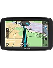 TomTom Start 62 GPS per Auto, Mappe a vita Europa 49 Paesi, Display da 6 Pollici, Indicatore di Corsia Avanzato, 3 Mesi Tutor & Autovelox, Aggiornamenti Software Gratuiti, Standard