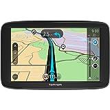 """TomTom Start 62 - Navegador GPS (6"""" pantalla táctil, batería, mechero, USB, interno, MicroSD/TransFlash), (versión europea España, Italia)"""