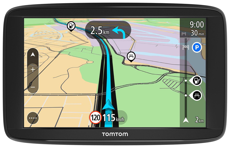 TomTom Start 62 - Navegador GPS (6' pantalla tá ctil, baterí a, mechero, USB, interno, MicroSD/TransFlash), (versió n europea Españ a, Italia) batería (versión europea España TomTom Spain L133553 1AA6.002.00