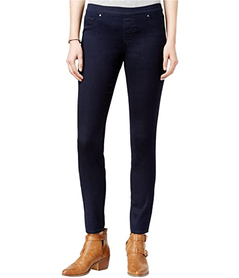 c3c7f7e7d3a04 Jessica Simpson Juniors' Kiss Me Dark Blue Wash Jeggings at Amazon Women's Clothing  store: