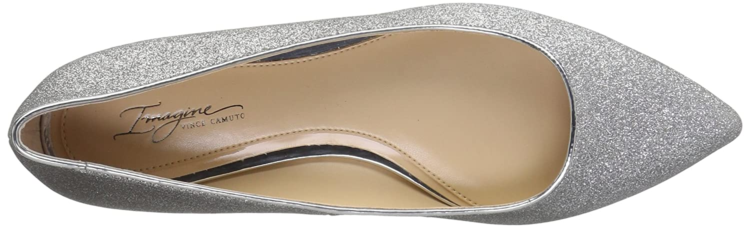 Imagine Ballet Vince Camuto Women's Genesa Ballet Imagine Flat B01MZ8EEPN 7 B(M) US|Platinum/Pewter 59b2e1